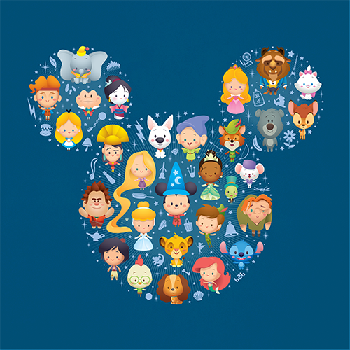 Jerrod Maruyama A World Of Cute Disney Character Art DisneyExaminer 500x500