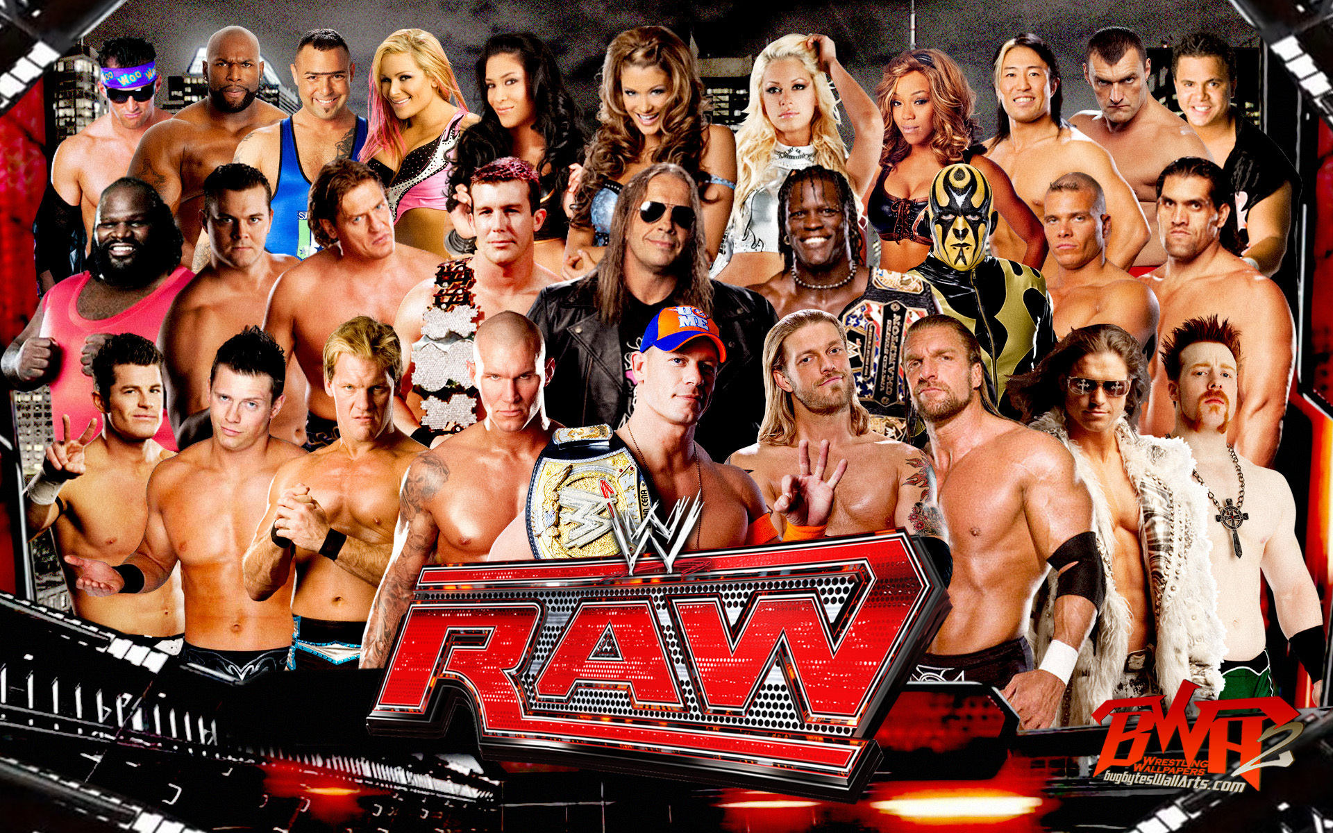 WWE Raw   WWE Wallpaper 16933714 1920x1200