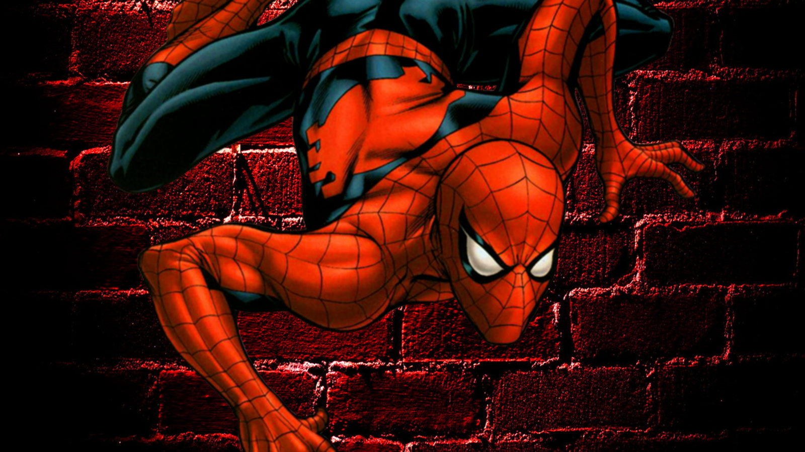 1600x900 hd desktop wallpaper spiderman wallpapersafari for Fondos de spiderman