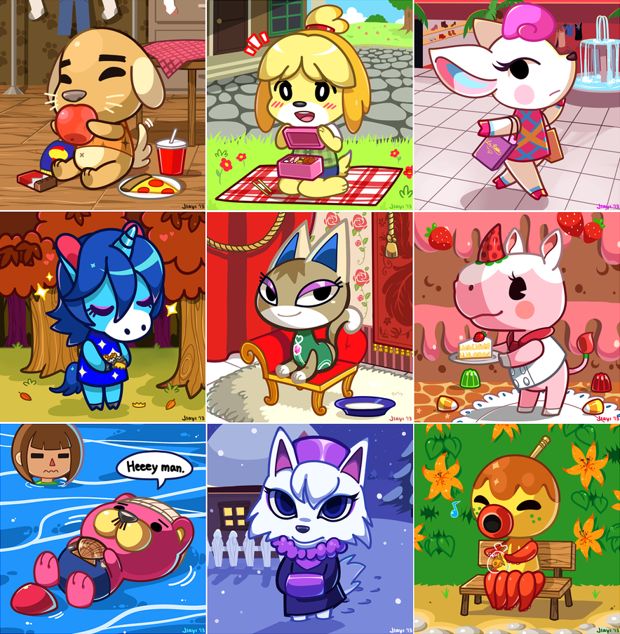 Free Download Animal Crossing New Leaf By Jiayi 884x903 For Your
