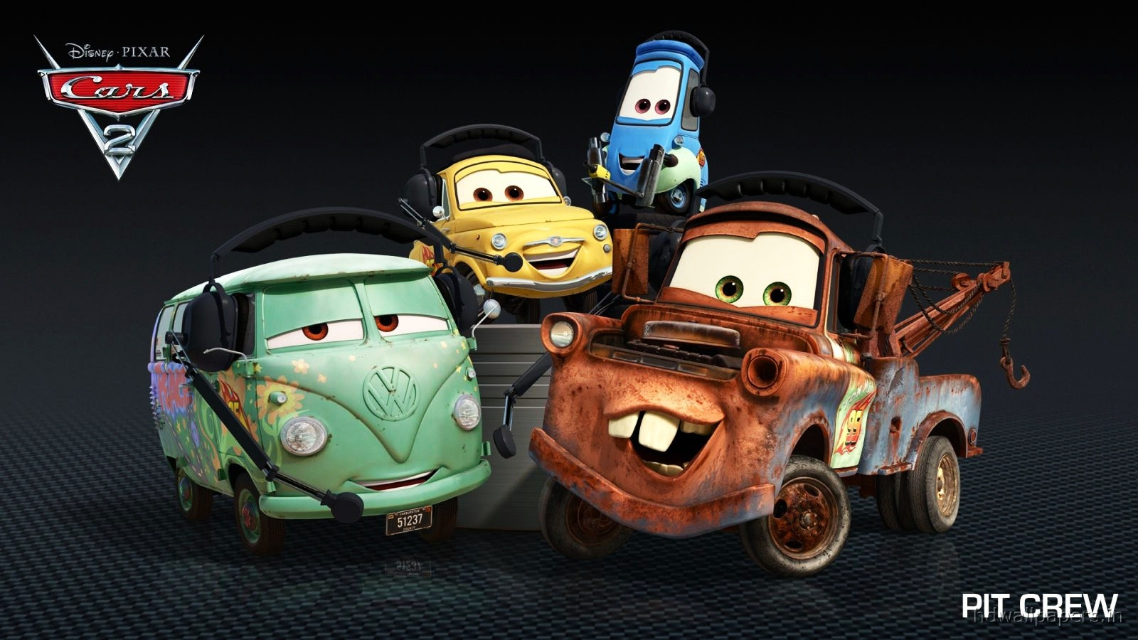 Pixars Cars 2 HD Wallpapers Best High Quality Car Desktop Wallpapers 1600x900
