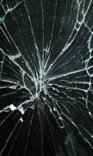 View bigger   Broken glass Wallpaper for Android screenshot 307x512