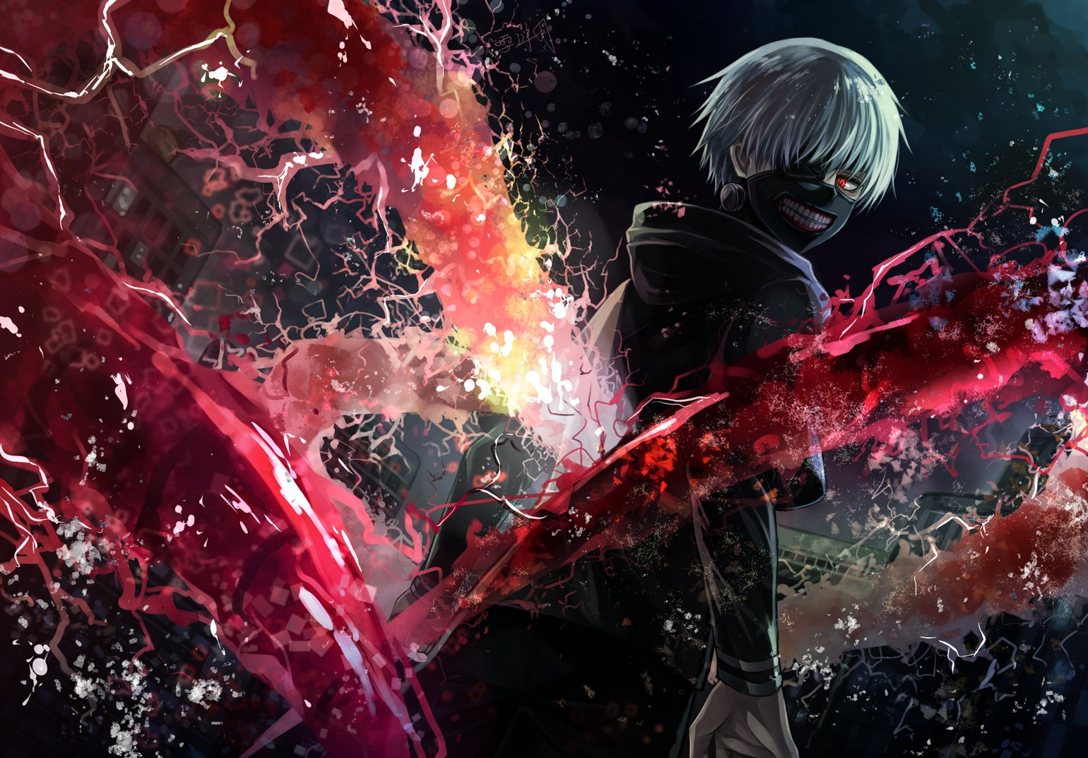Tokyo Ghoul Kaneki Hd Wallpaper Important Wallpapers 1540x1073