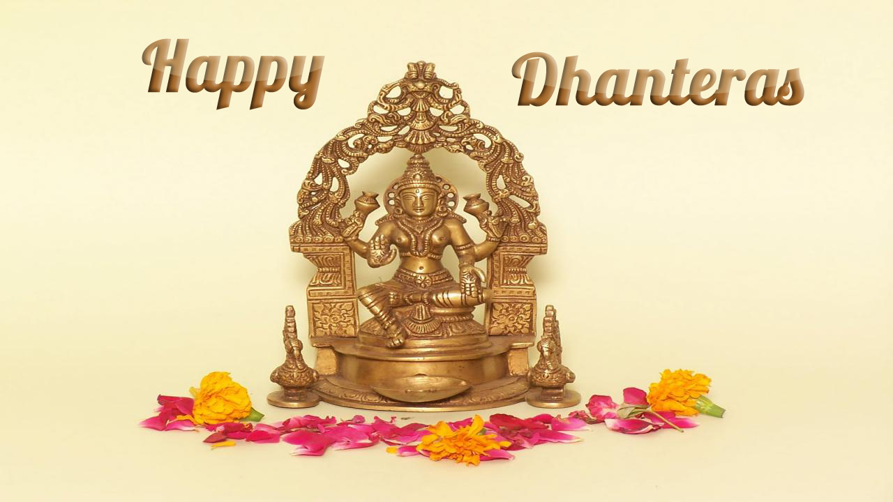 Happy Dhanteras 2015 Wishes Images Messages Shubh Muhurat 1280x720