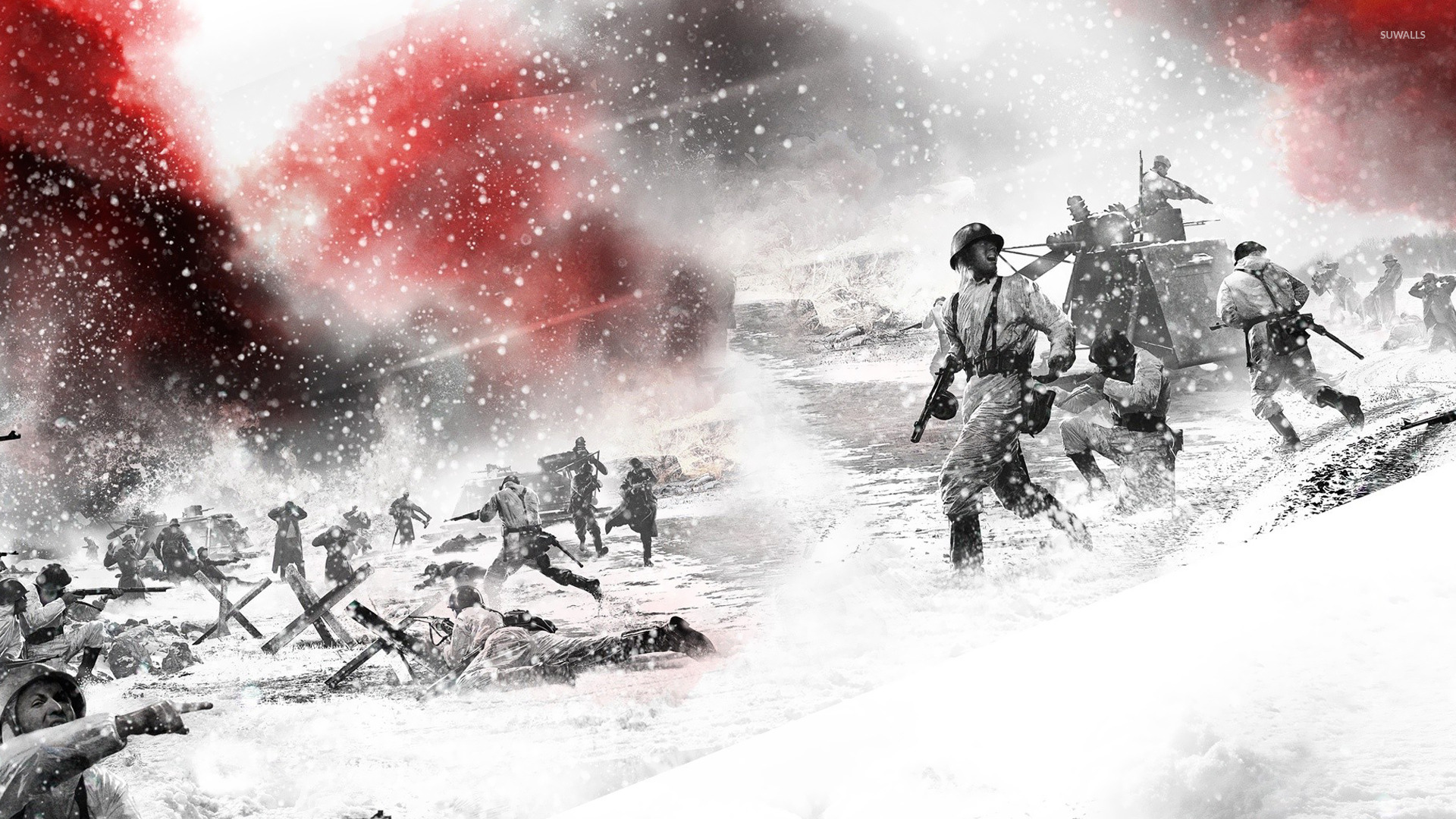 Free Download Company Of Heroes 2 Wallpaper Game Wallpapers