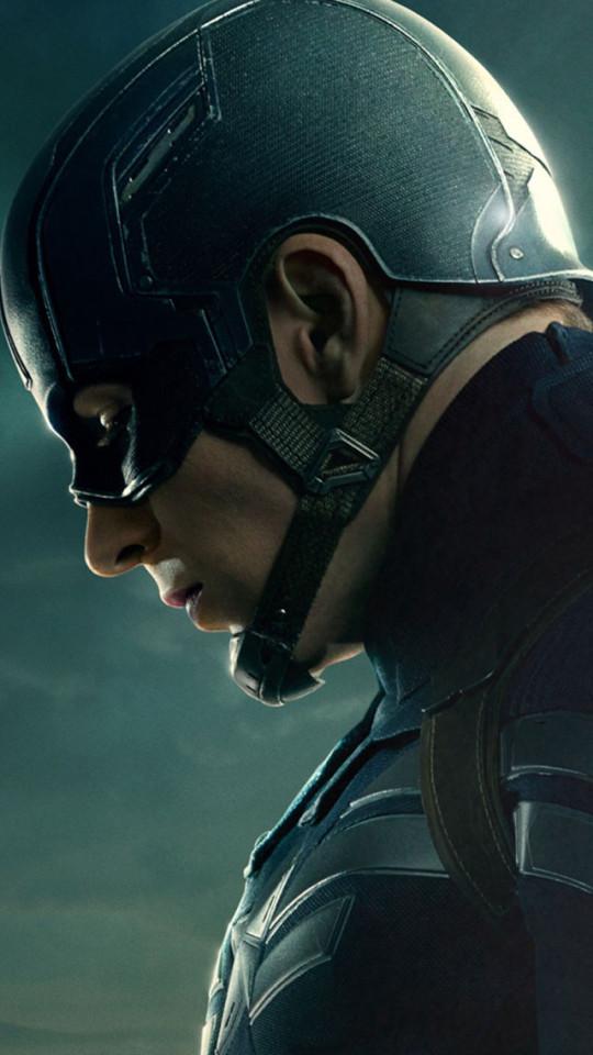 Chris Evans Captain America 2 Wallpaper   iPhone Wallpapers 540x960