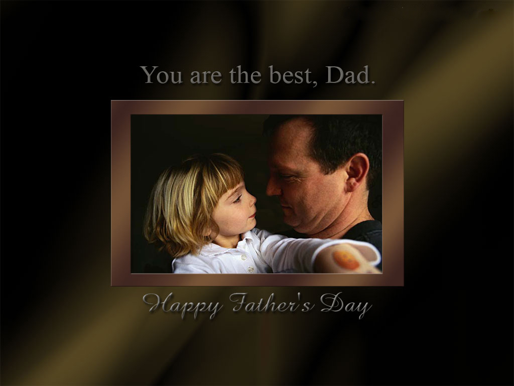 To download click on Best Dad Fathers Day Wallpaper then choose save 1024x768