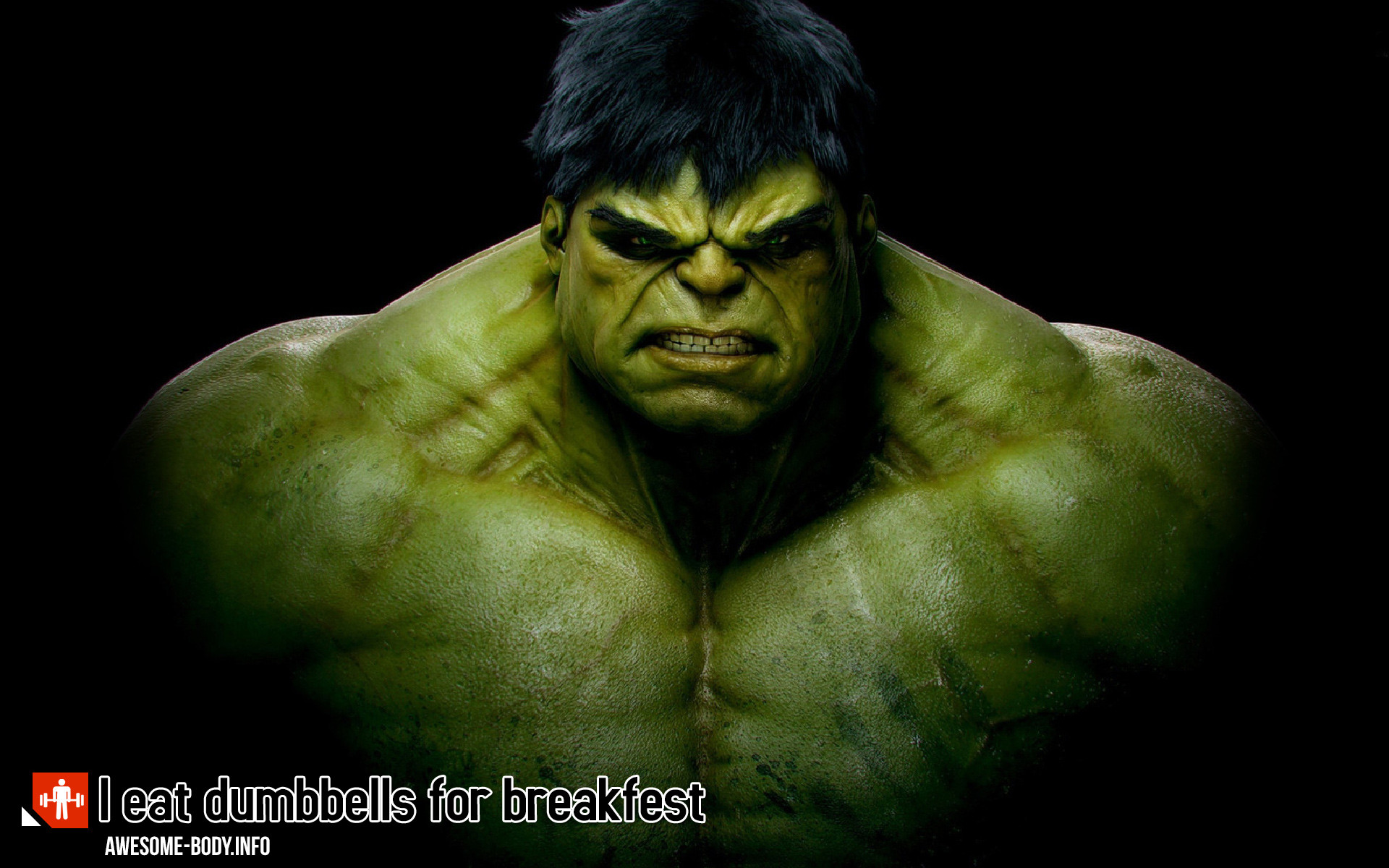Hulk wallpaper Beast Motivation HD Poster Awesome Hulk 1920x1200