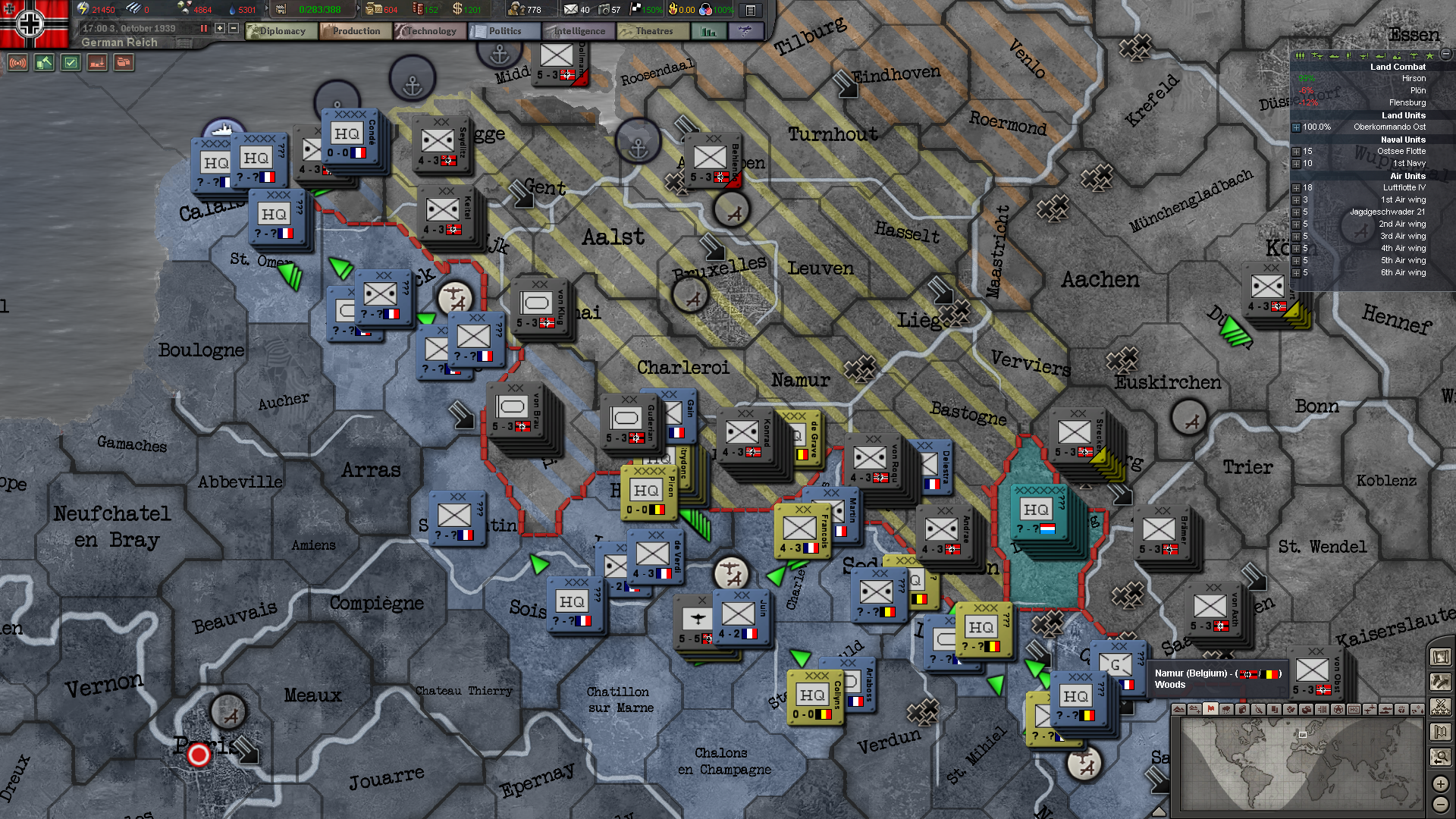 HOI3 HPP Ran out of fuel with Germany in 1939 by building only 1920x1080