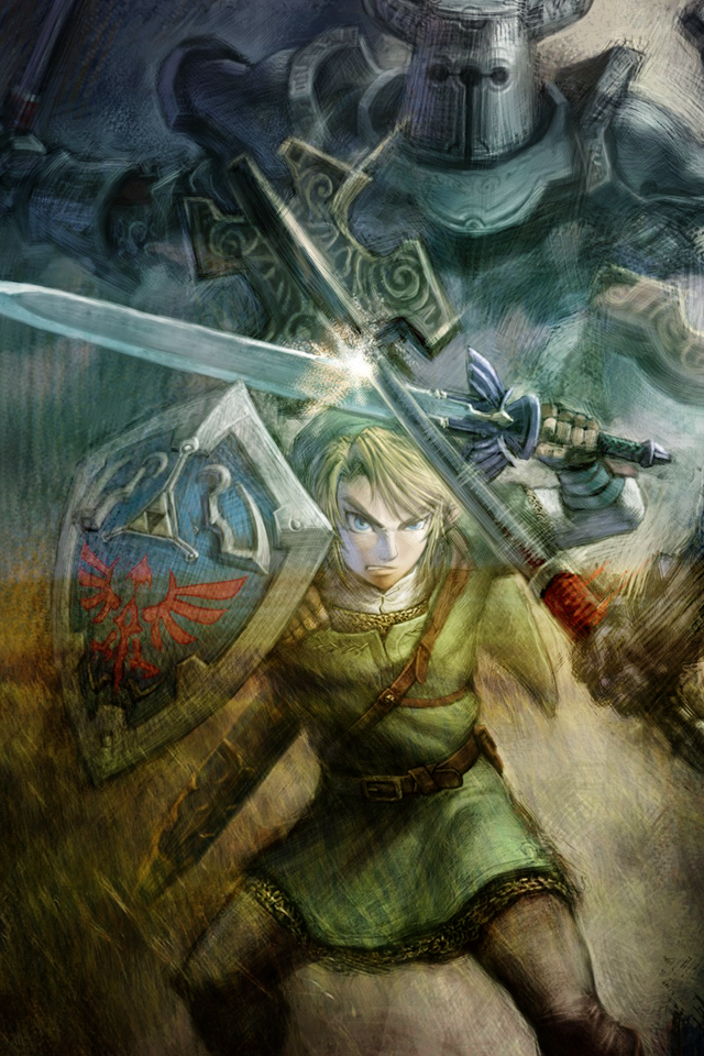 The Legend of Zelda Twilight Princess 3 640x960