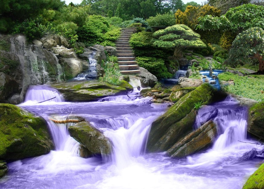 Zen garden desktop wallpaper wallpapersafari for Zen garden waterfall