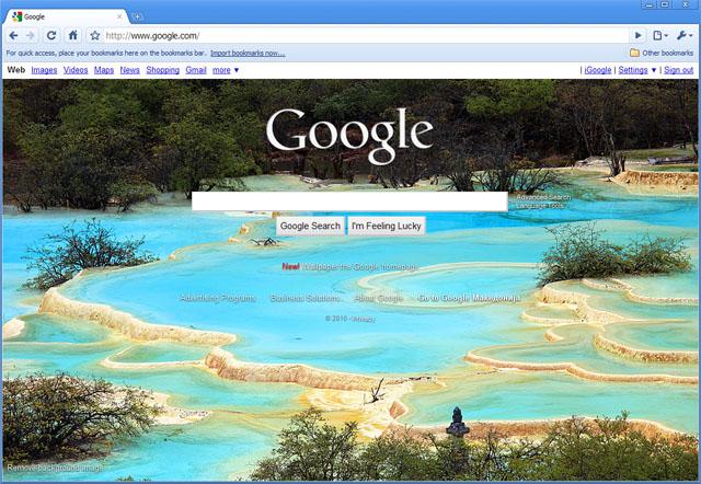 google background 640x442