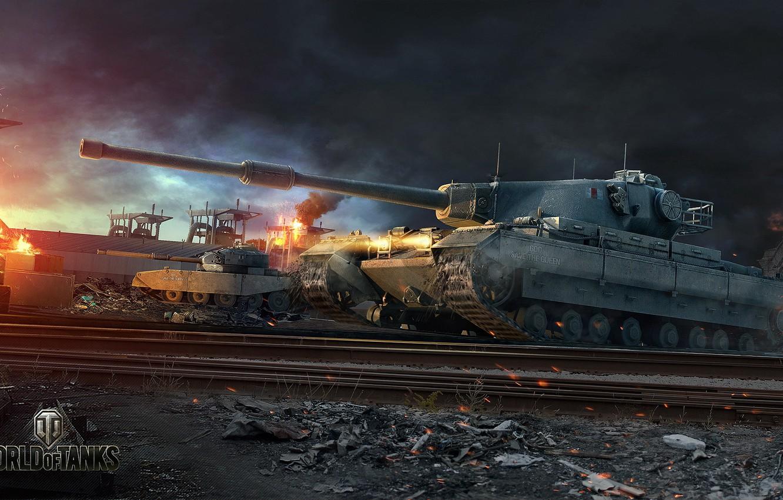 Wallpaper England UK WoT World of Tanks World Of Tanks 1332x850