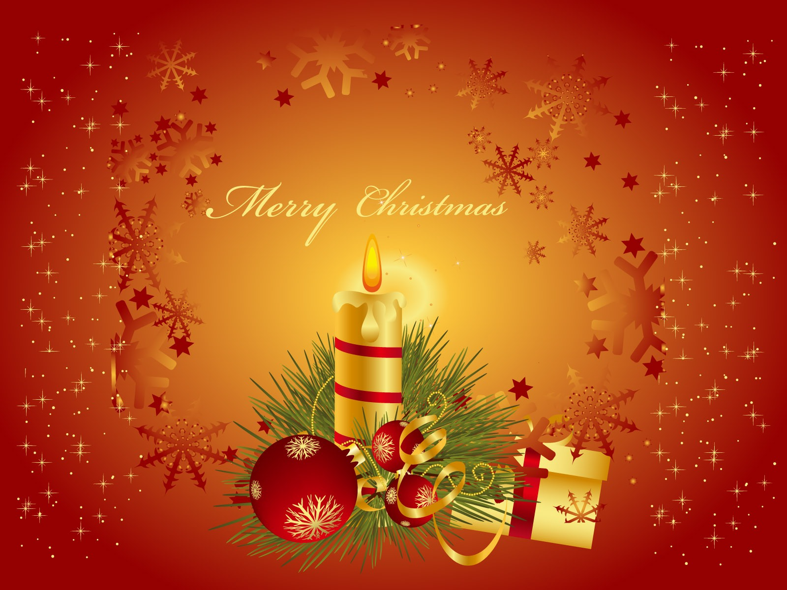 christmas candle wallpapers download wallpapers christmas candle 1600x1200
