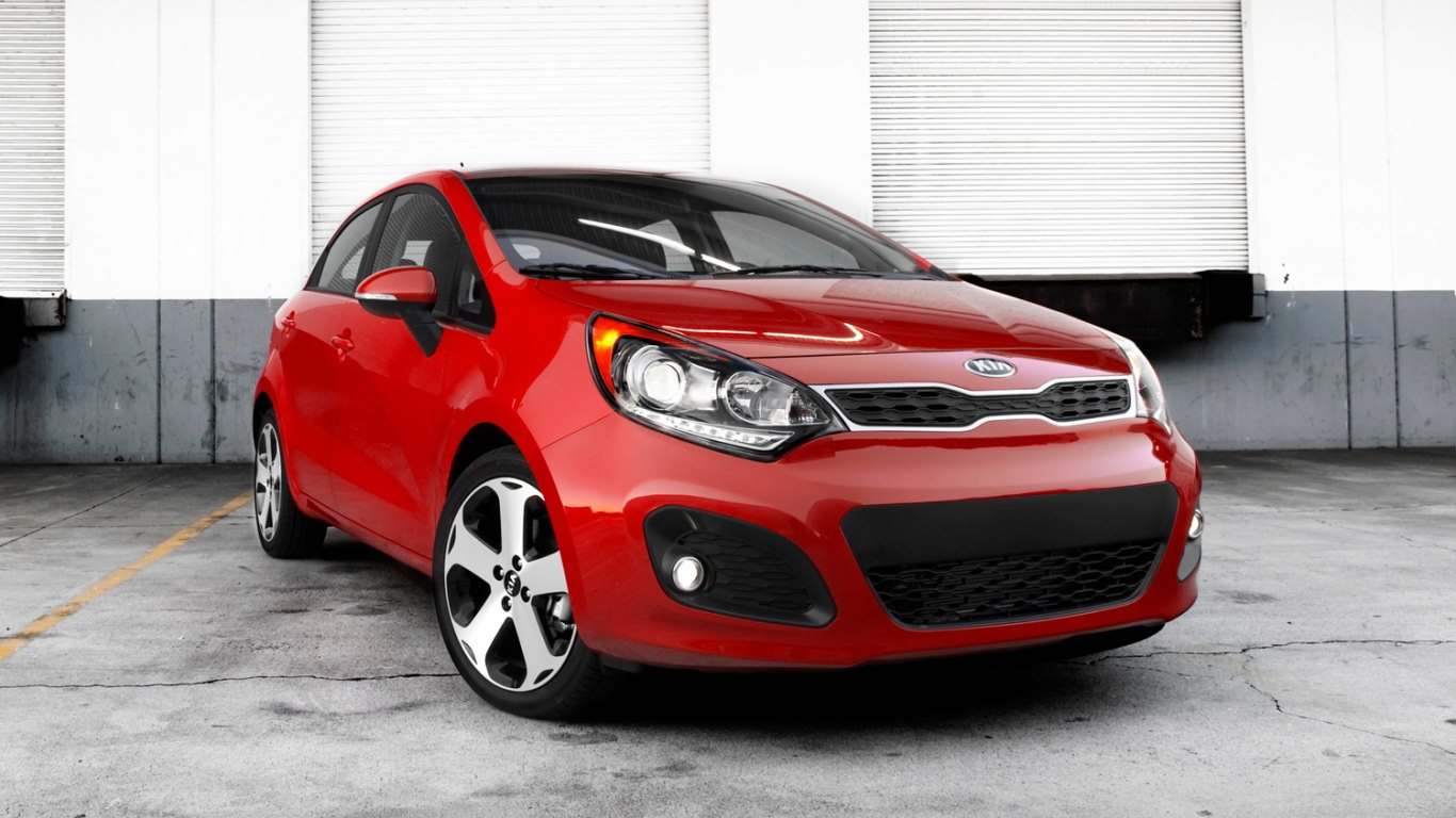 2013 Kia Rio SX HD Wallpapers 1366x768