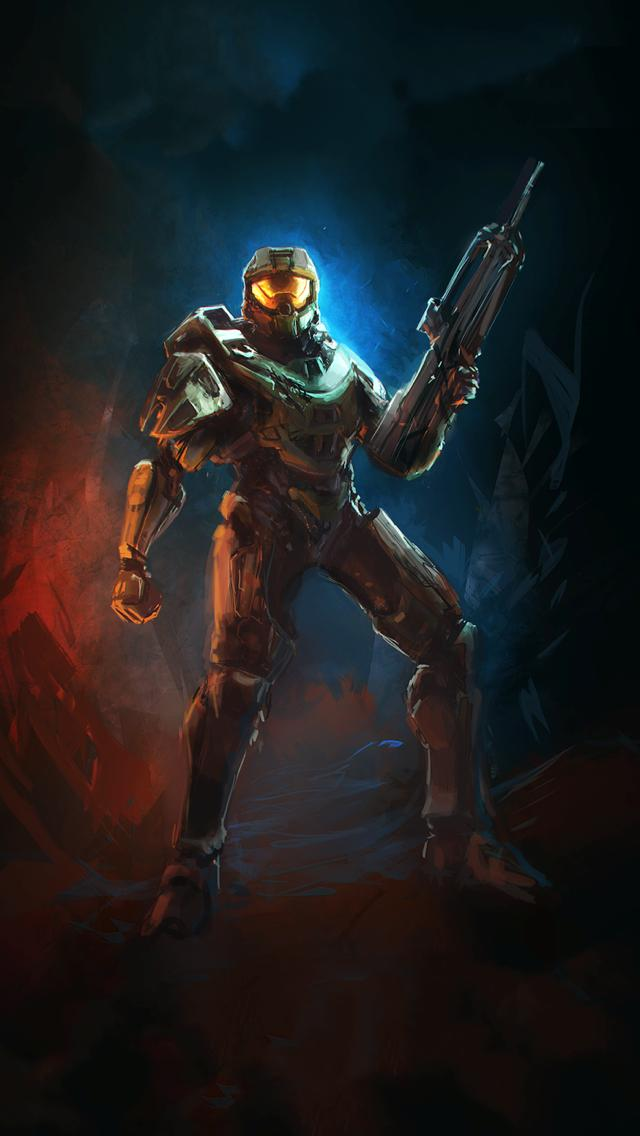 Halo HD IPhone Wallpapers 5 IPhone5 Wallpaper Gallery 640x1136