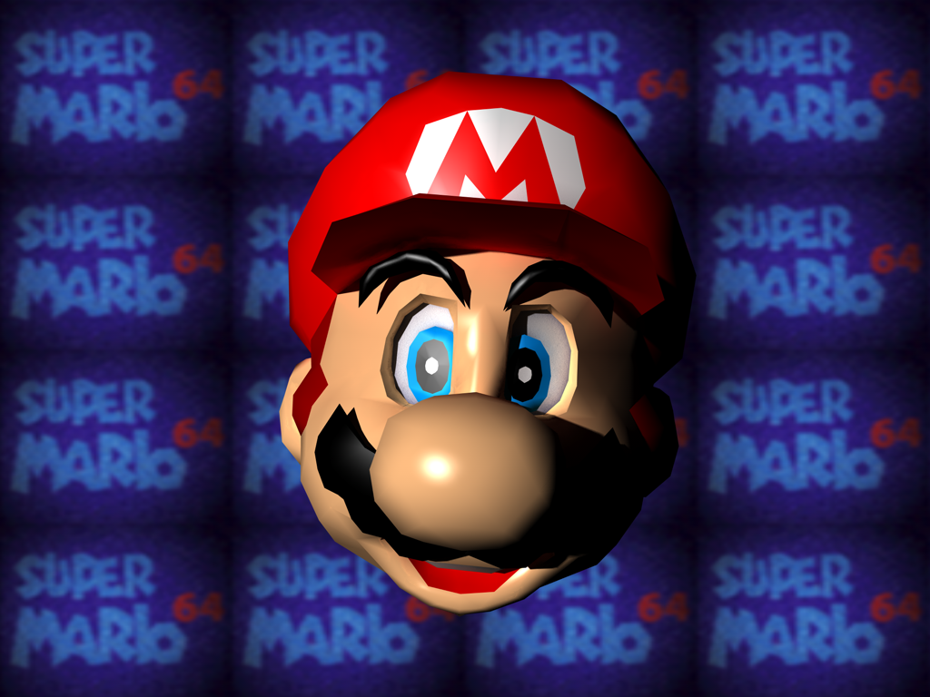 Free download Super Mario 6 4 N64 [1024x768] for your Desktop