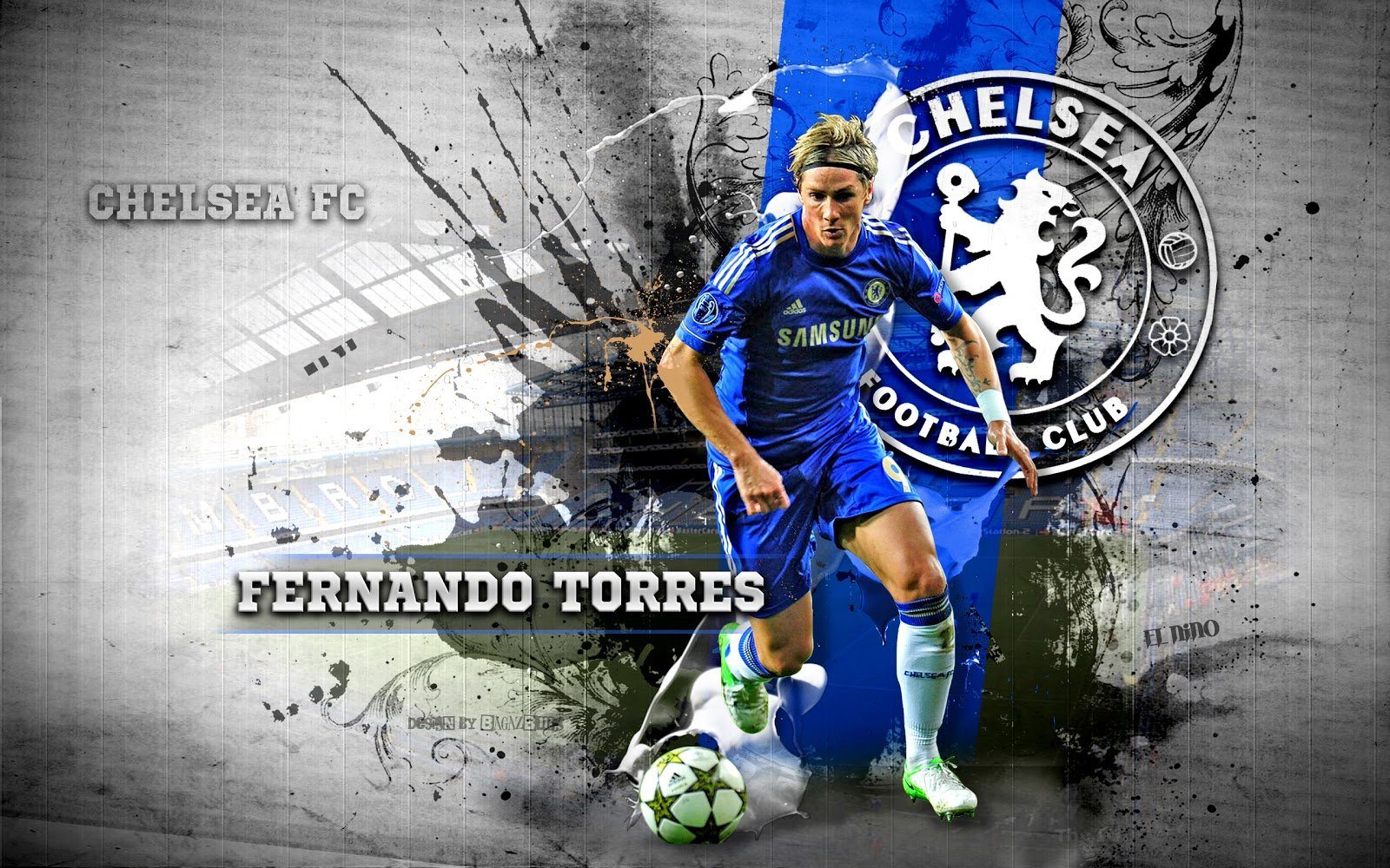 wallpapers hd for mac Fernando Torres Chelsea Wallpaper 1600x1000