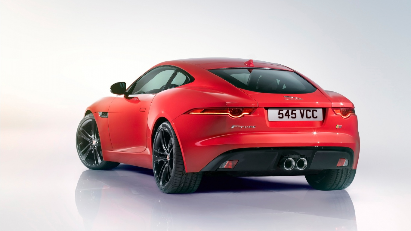 2014 Jaguar F Type R Coupe 4 Wallpaper HD Car Wallpapers 1366x768