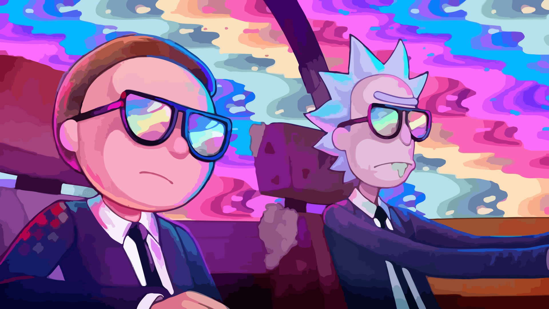 35 4K Ultra HD Rick and Morty Wallpapers Background Images 1920x1080