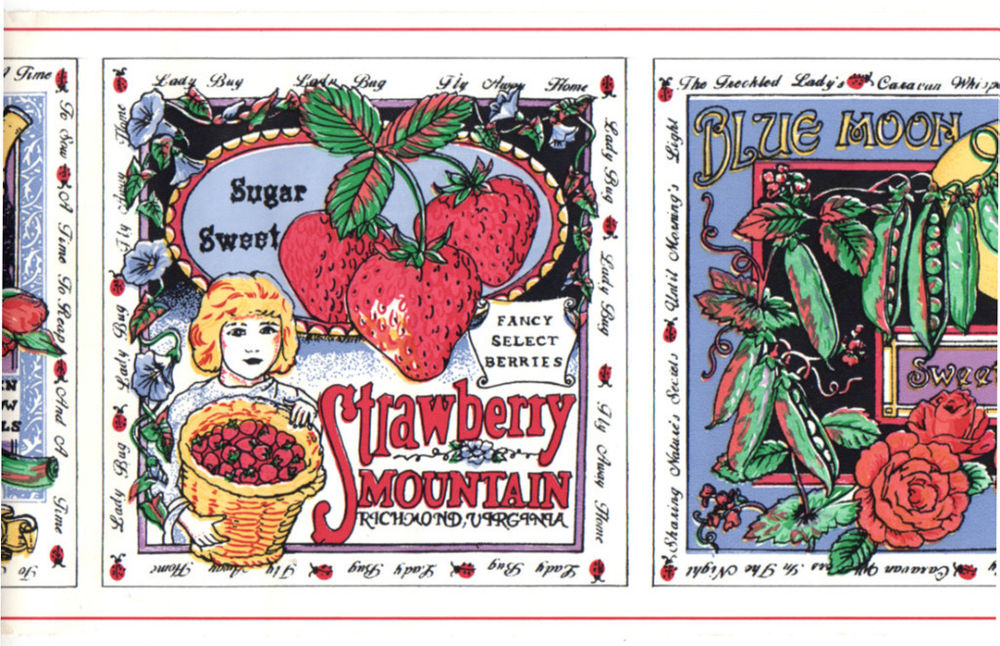 Vintage Country Fruit Vegetable Flower Farmer Market Store Sign 1000x646