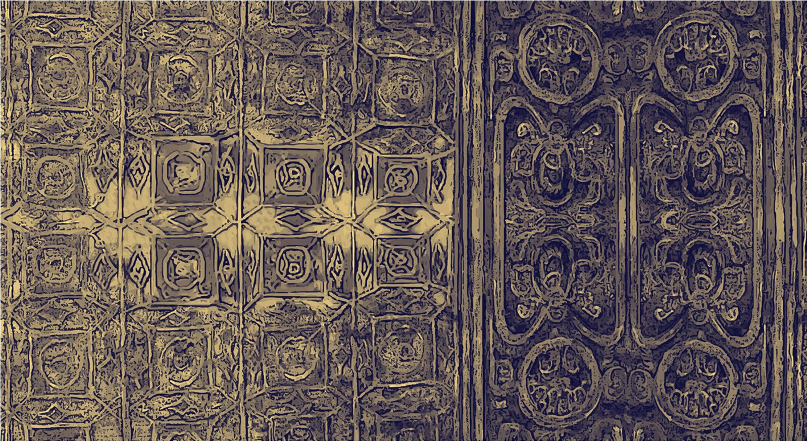 ORIENT GOLD 001 CONTEMPORARY WALLPAPER 2019 1600x876