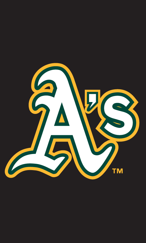 Oakland Athletics HTC HD2 Wallpaper 480x800