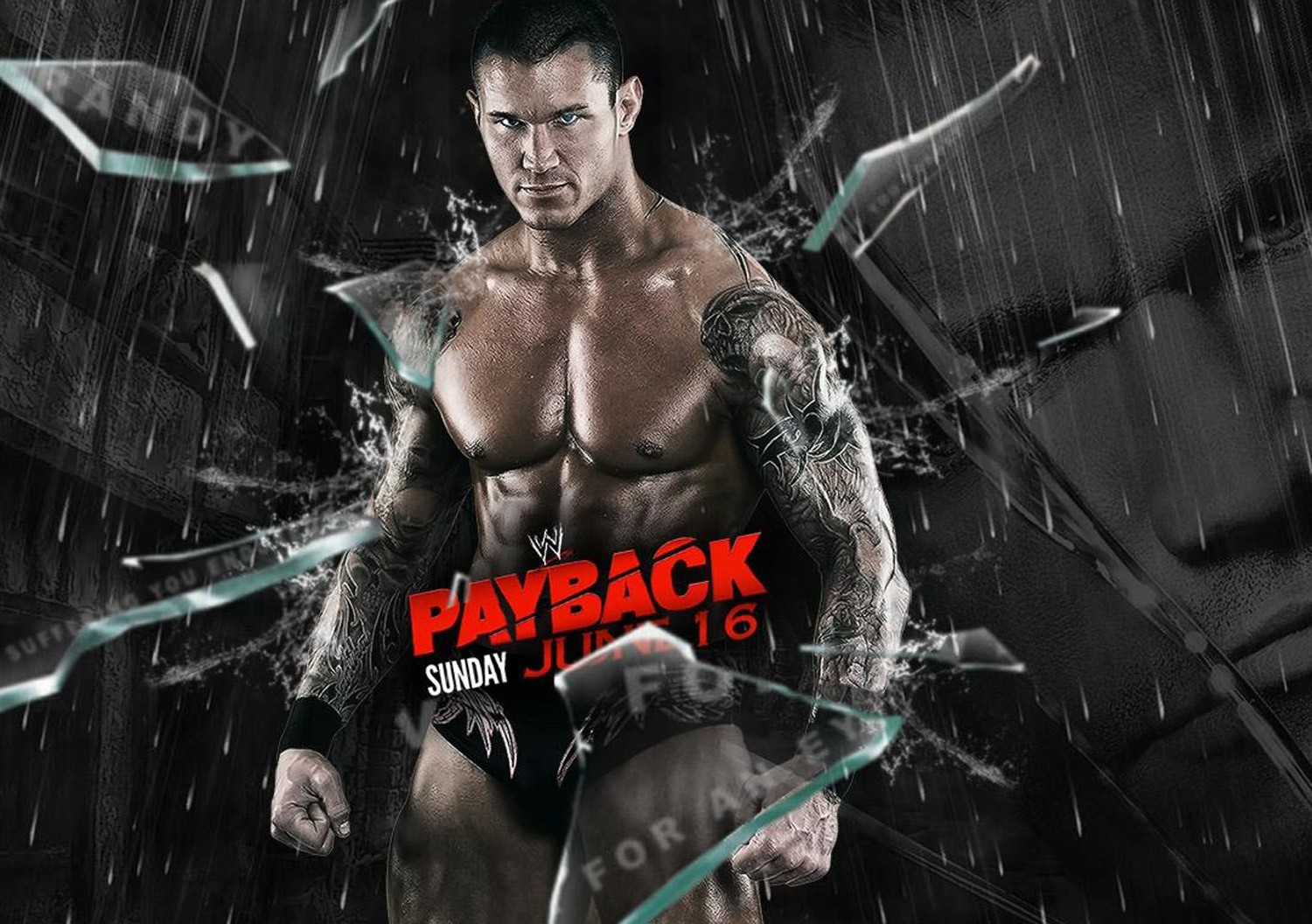 Randy Orton Pay Back WWE Wrestling Wallpaper 1500x1056