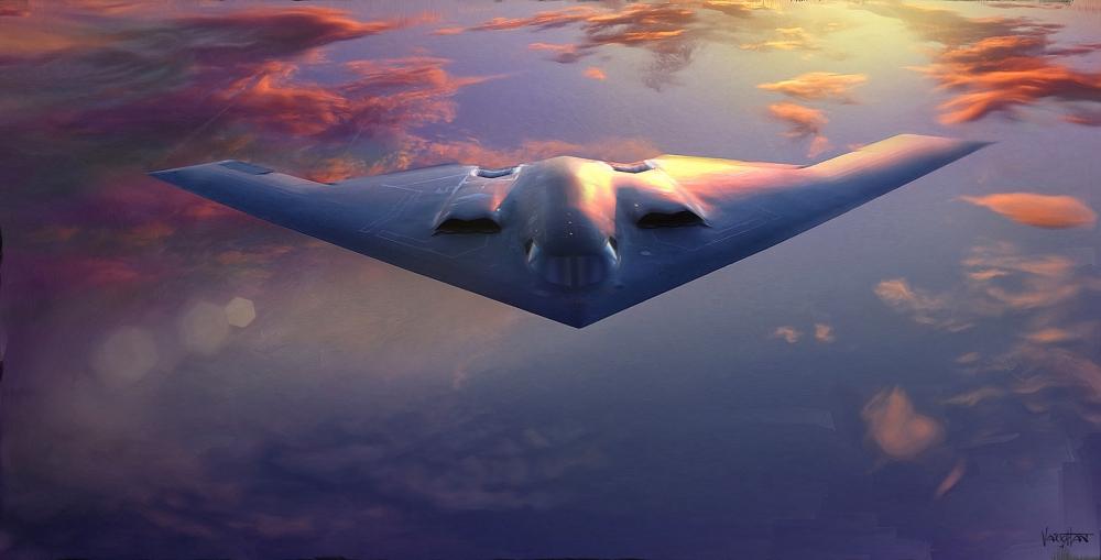 Wallpaper Northrop Grumman B 2 Spirit Aircraft Warplane Sky 1000x509