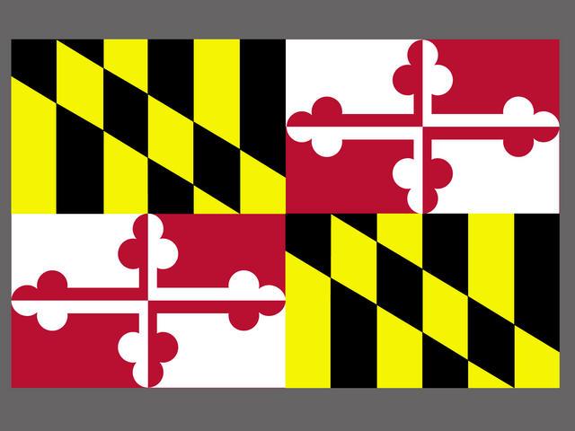 maryland flag CBS Baltimore 640x480