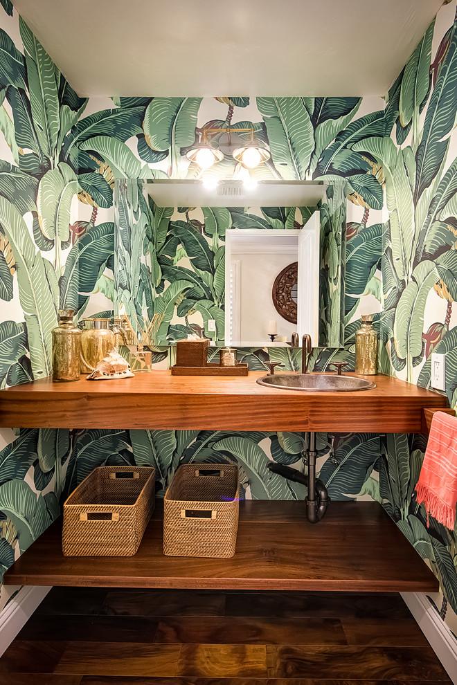 3D Tropical Banana Leaf Wallpaper 660x990