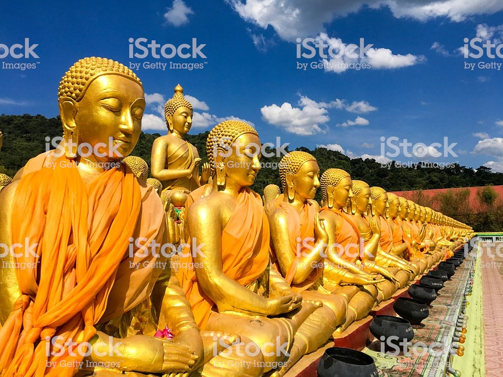 Magha Puja Memorial Buddhist Park Thailand Stock Photo   Download 1024x768