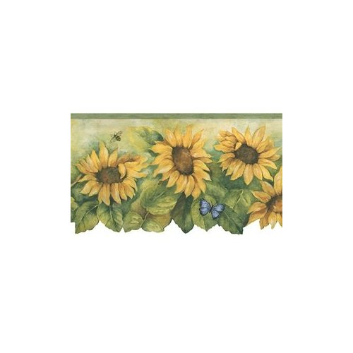 tvwp contentcscSunflower Crocks Wallpaper Borderhtml 500x500