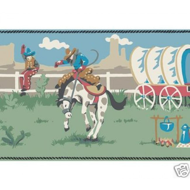Kids Cowboy Wallpaper Border   All 4 Walls Wallpaper 650x650