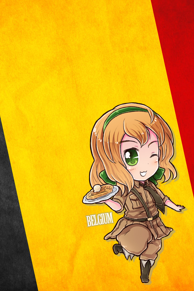 Hetalia iWallpapers   Belgium by Dreamweaver38 640x960