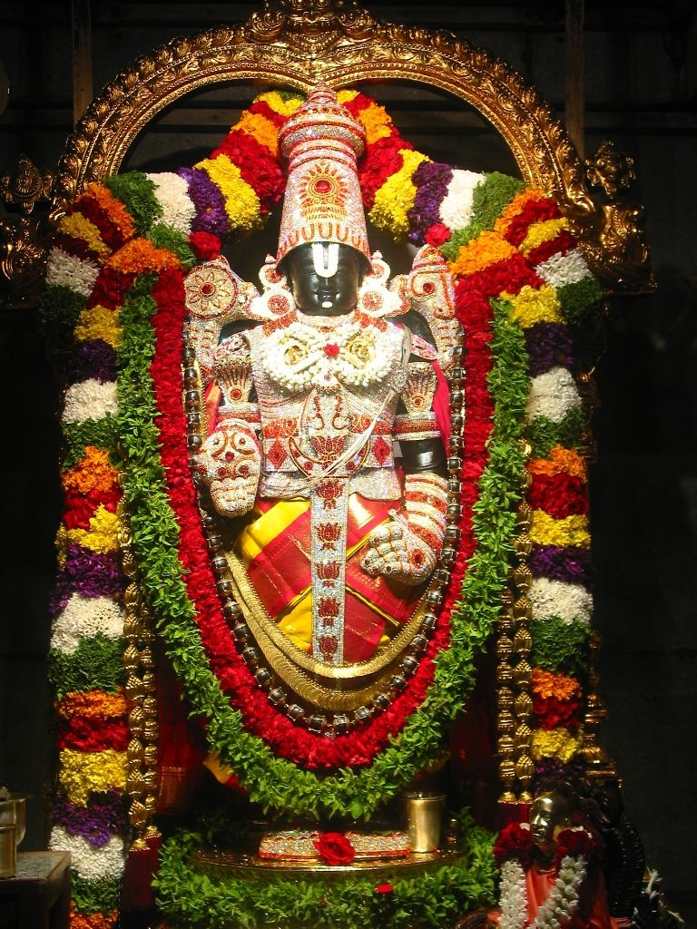 God Photos Lord Tirupati Balaji Photos Wallpapers 768x1024