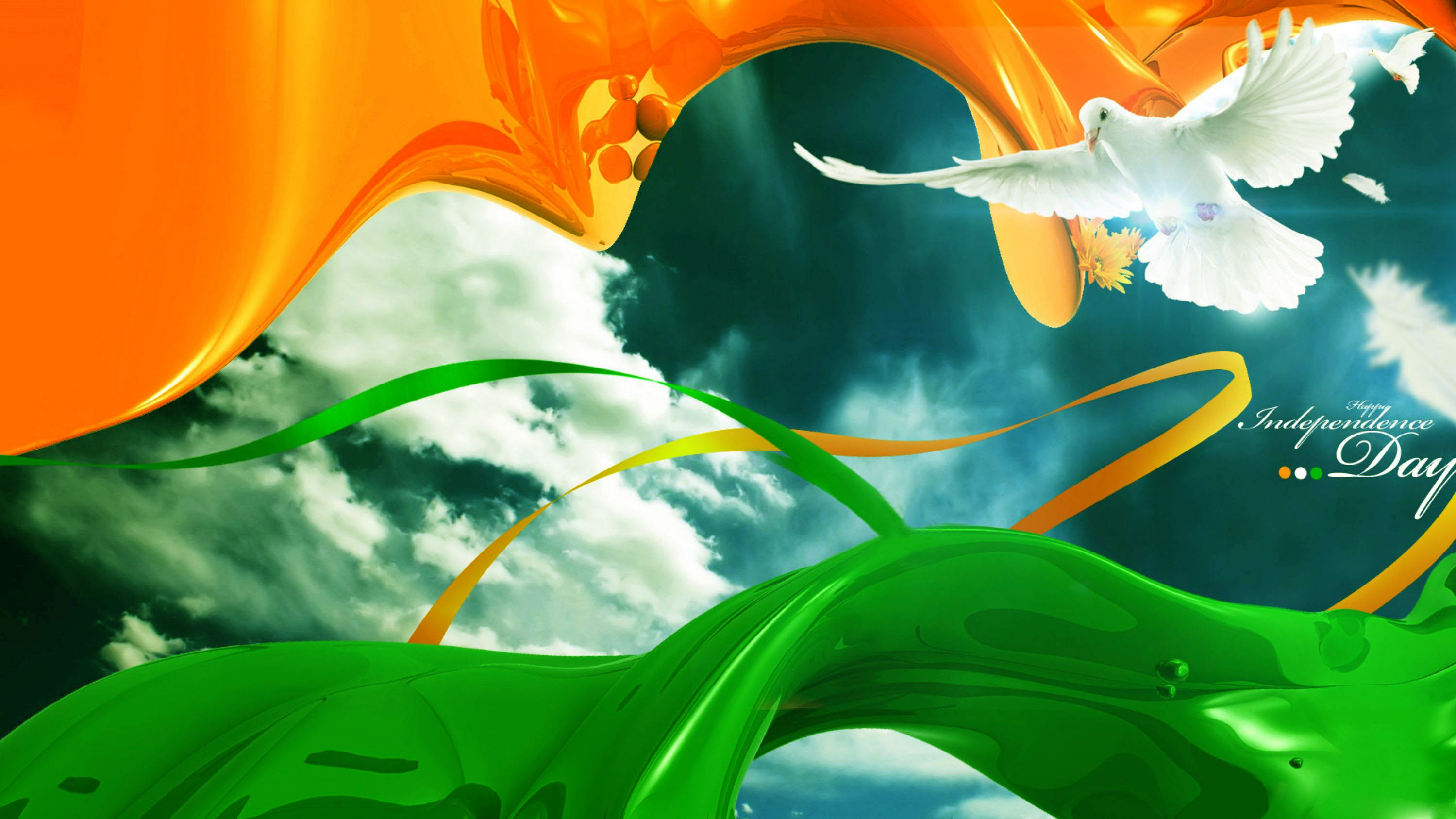 15 Aug] India Independence Day HD Images Wallpapers Pictures 2999x1687