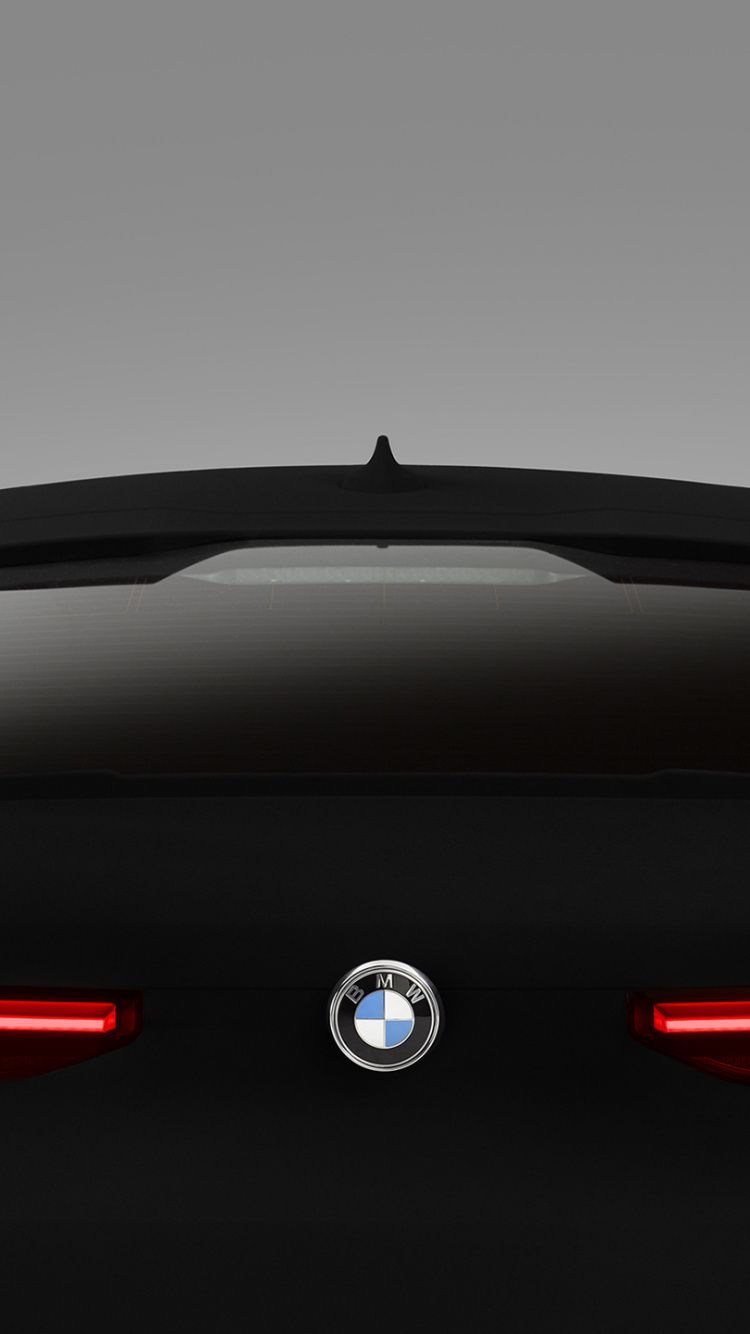 750x1334 BMW X6 Vantablack rear view 2020 wallpaper Bmw 750x1334