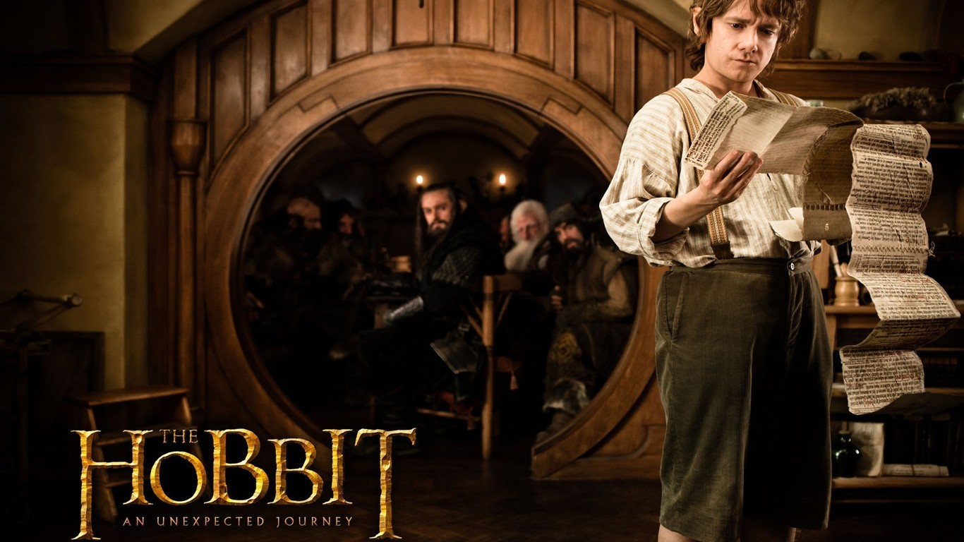 Download Hobbit Movie Wallpaper 18384 Wallpaper WallpapersTubecom 1366x768