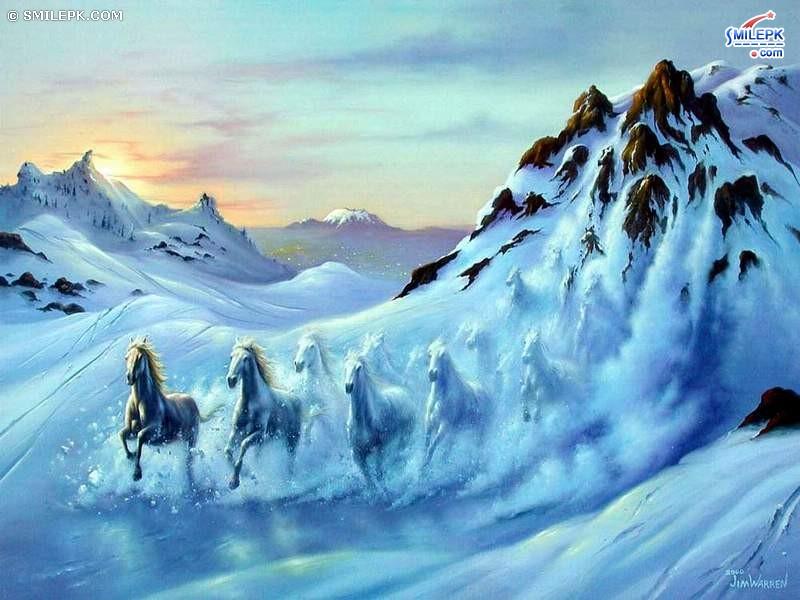 Christmas Horse Wallpaper Free Wallpapersafari