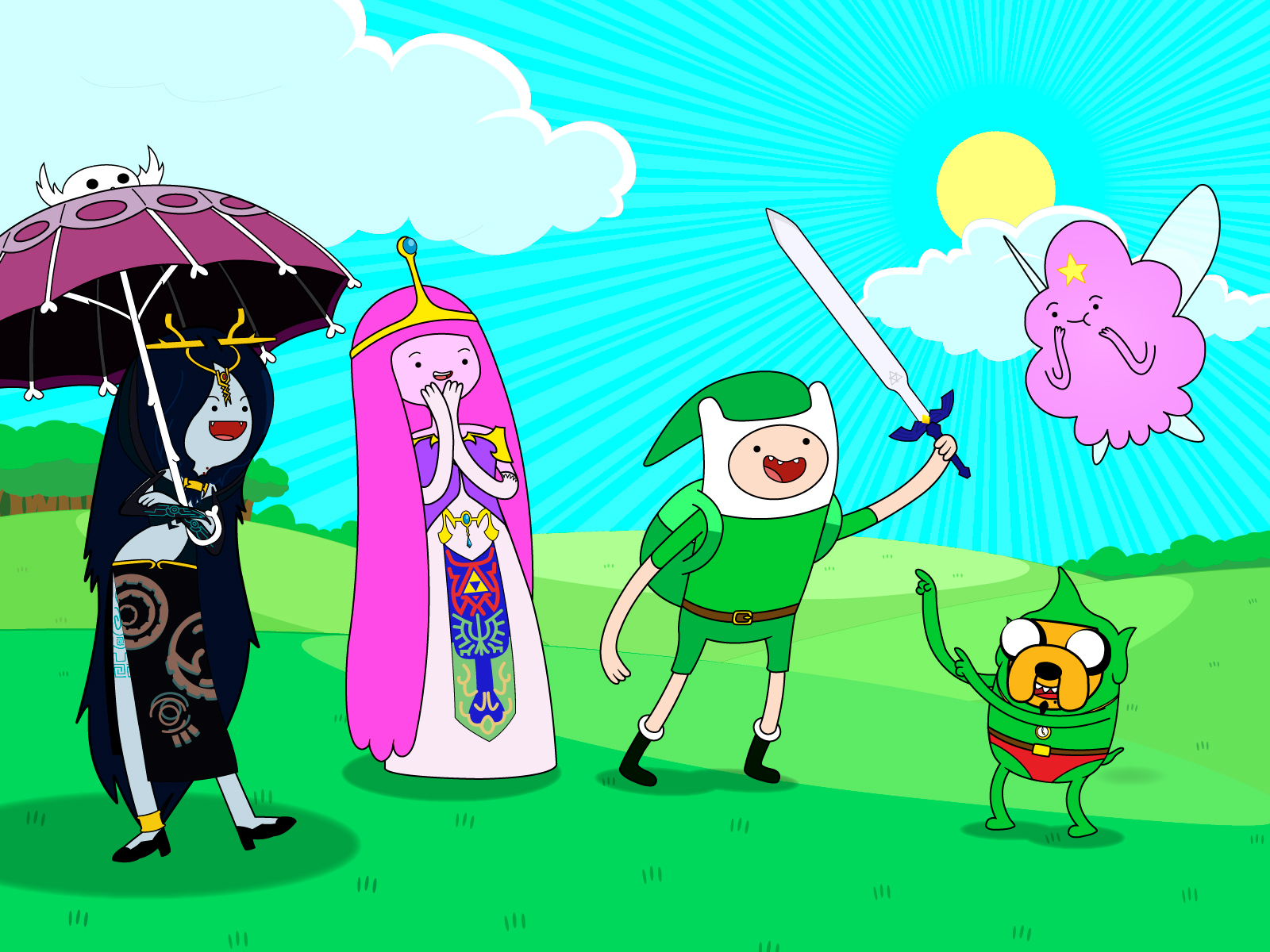 Adventure Time with Finn Jake HD Wallpapers Cartoon Wallpapers 1600x1200