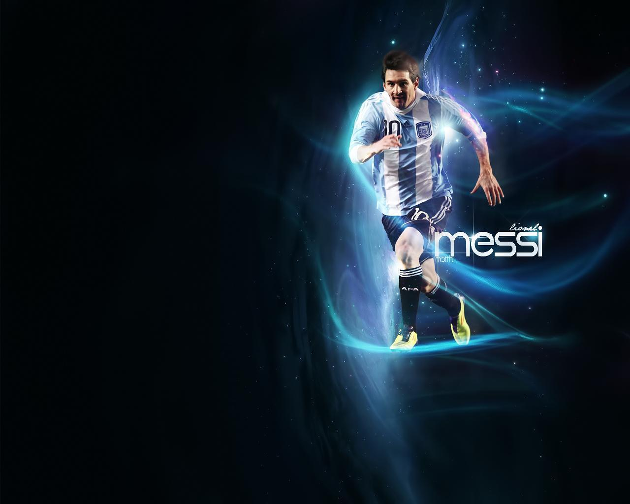 Football Wallpapers Lionel Messi 1280x1024