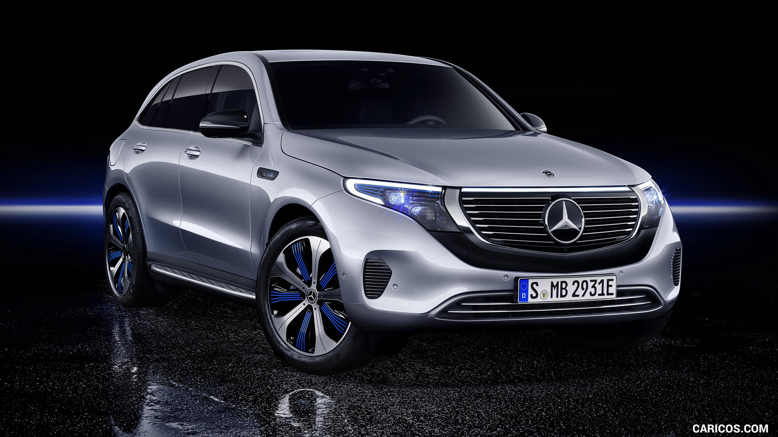 2020 Mercedes Benz EQC 400 4MATIC   Front Three Quarter HD 2560x1440