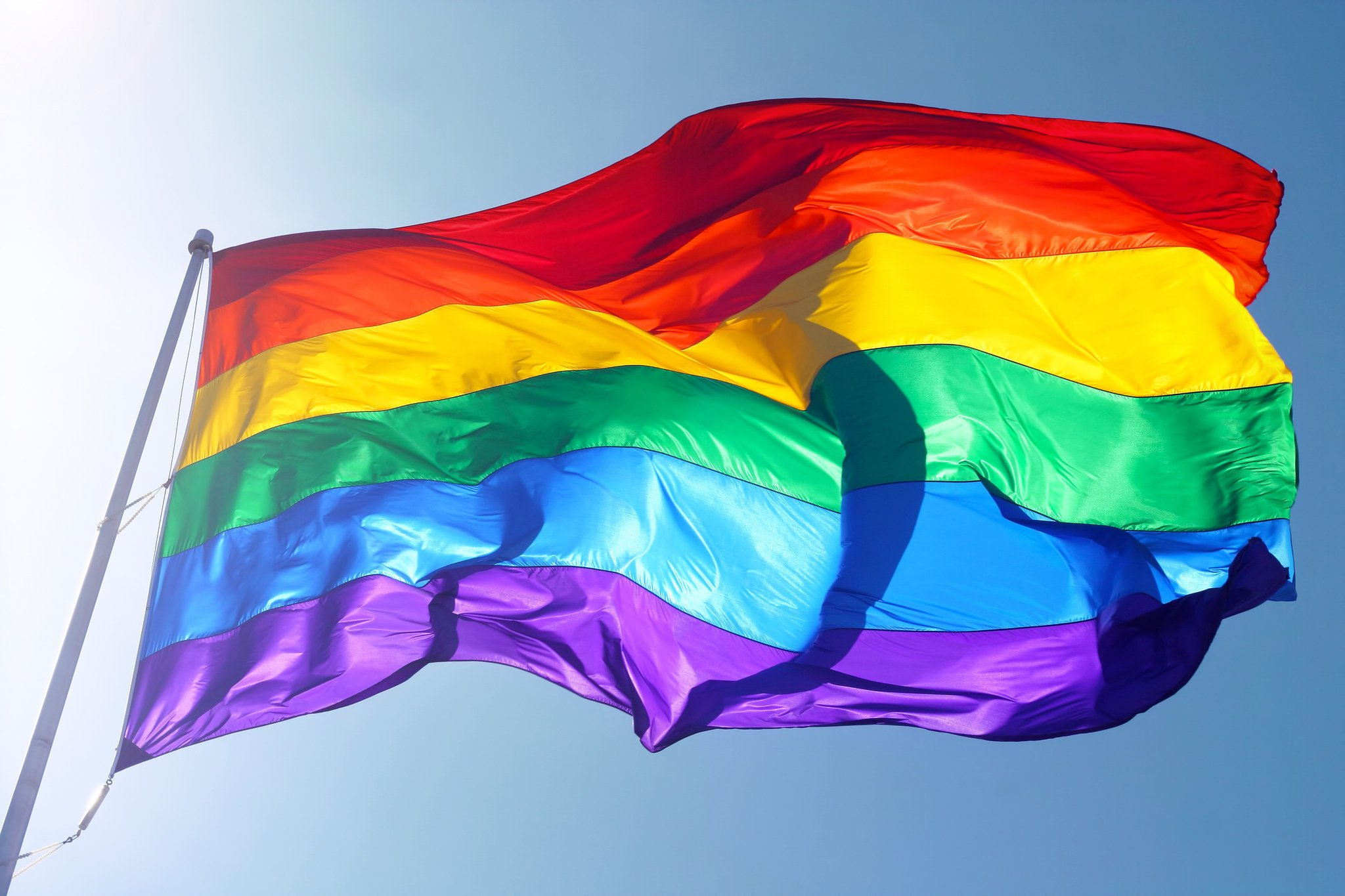 High Quality Rainbow Flag Wallpaper Full HD Pictures 2048x1365