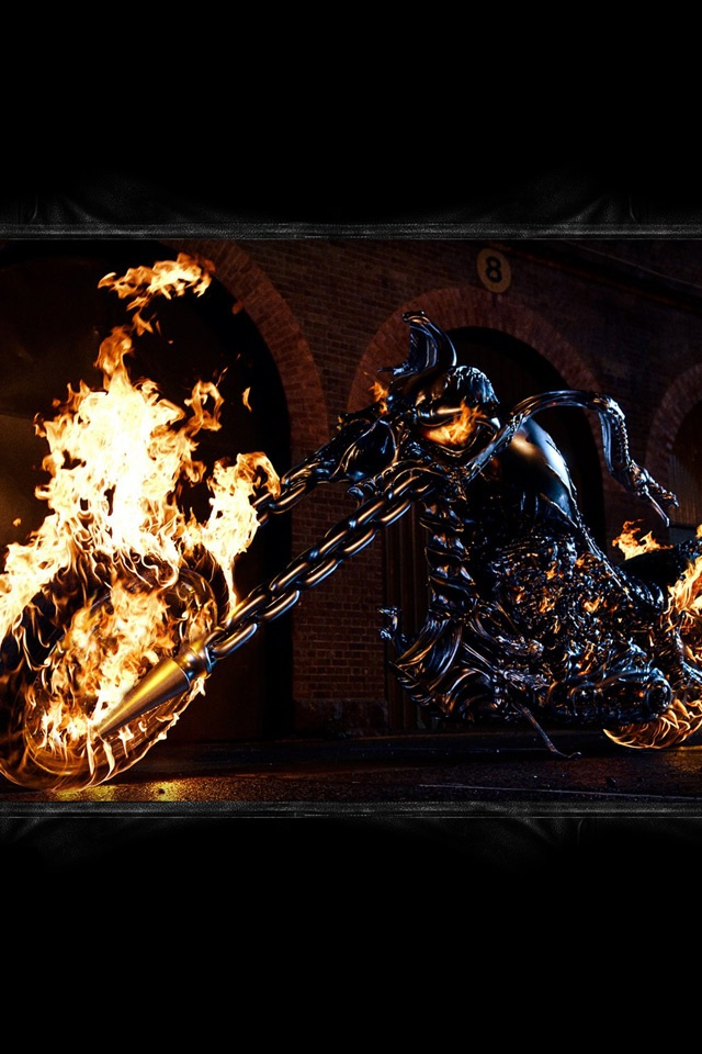 MoviesTV   Ghost Rider   iPad iPhone HD Wallpaper 640x960