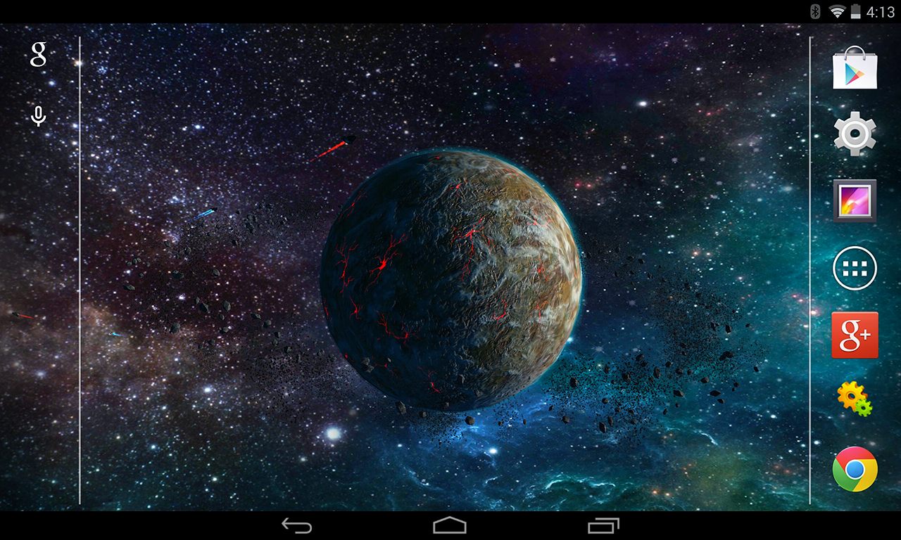 3D Planet Live Wallpaper   Android Apps on Google Play 1280x768