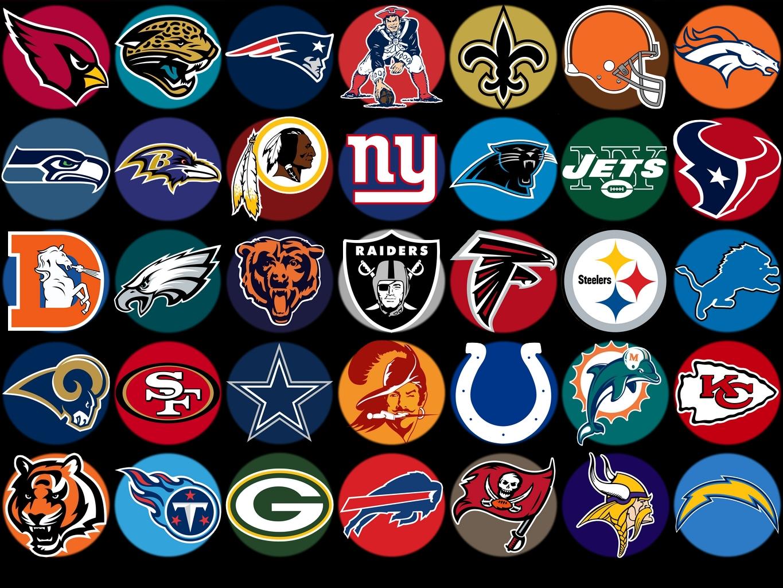 National Football League NFL all 32 teams 1365x1024