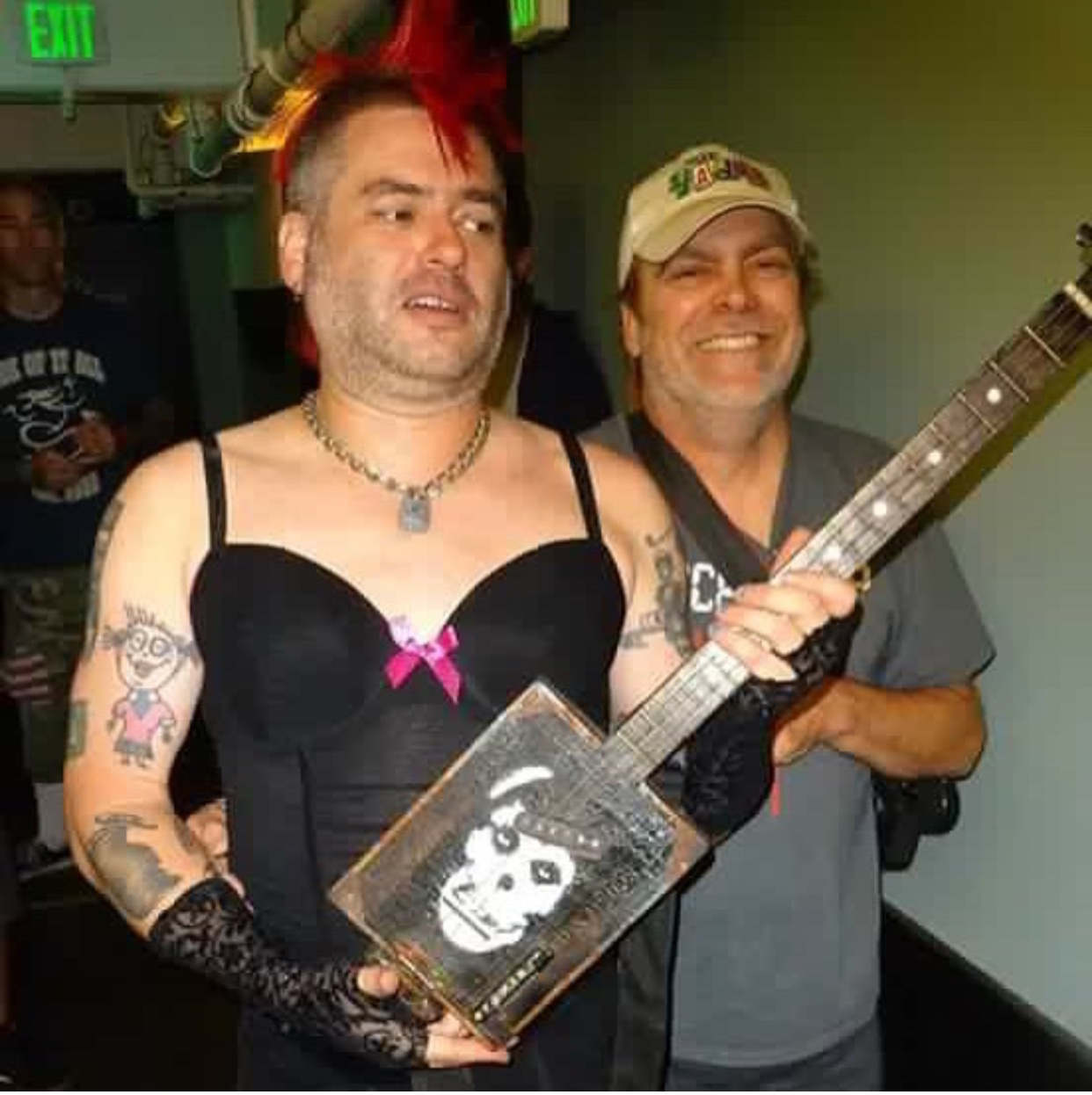 My dad built this and gave it to Fat Mike NOFX   Album on Imgur 1242x1246