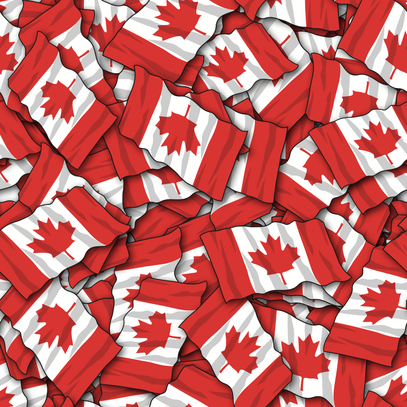 Canadian Flag Backgrounds Wallpapers Images 1 Flags Ppt Background 800x800