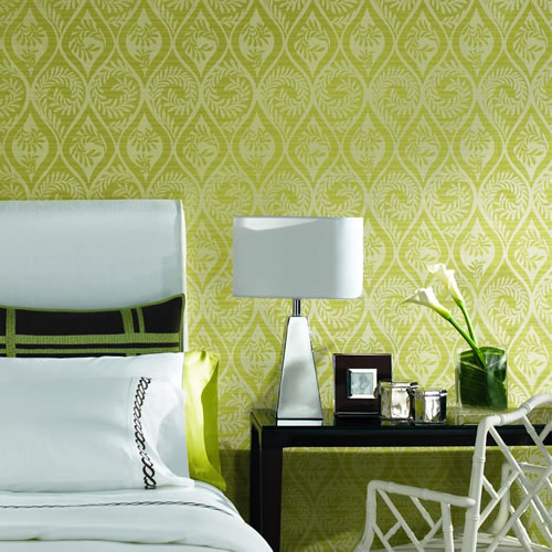 How to Make Peel Off Fabric Wallpaper ModHomeEc 500x500